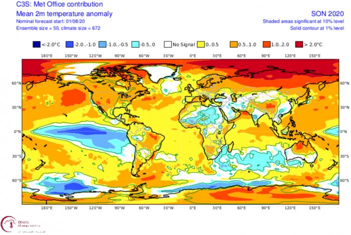 fall-forecast-2020-ukmo-temperature