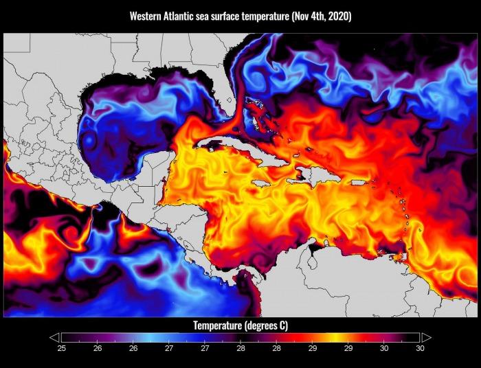 storm-eta-florida-hurricane-season-sea-temperatures