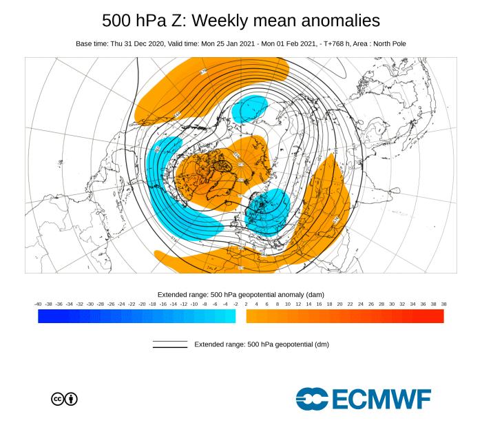 January-2021-weather-forecast-ecmwf-week-4-pressure-pattern-united-states-europe