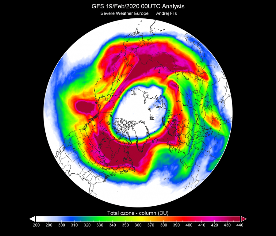 Total_ozone_entire_atmospher_in_GFS_Global_0p5deg_201200219_0000-1