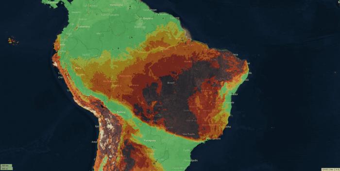 amazon-wildfire-danger-index-forecast-2020
