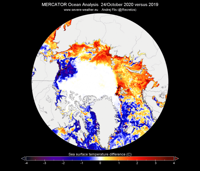 arctic-sea-ice-winter-2020-2021-jet-stream-united-states-europe-one-year-ocean-temperature-change