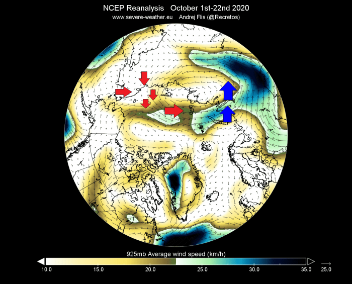 arctic-sea-ice-winter-2020-2021-jet-stream-united-states-europe-wind-flow-analysis