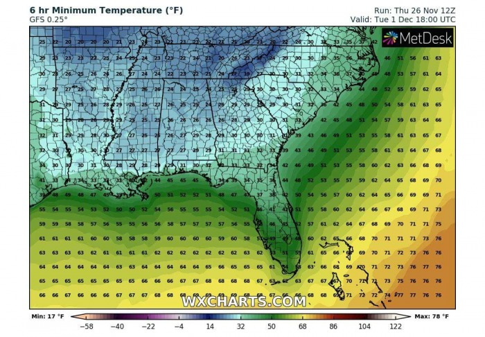 cold-forecast-southeast-united-states-florida-morning-temperature-tuesday