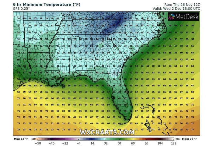 cold-forecast-southeast-united-states-florida-morning-temperature-wednesday