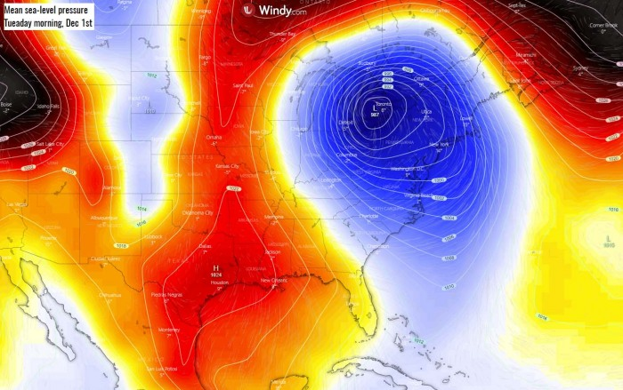 cold-forecast-southeast-united-states-florida-pressure-tuesday