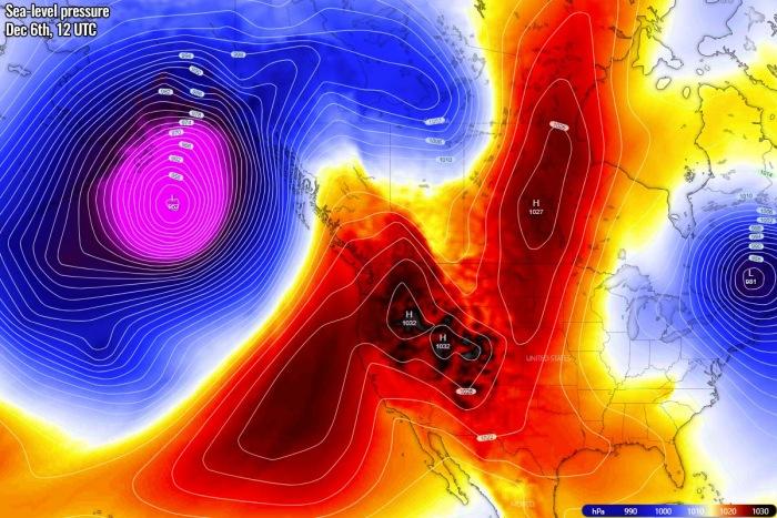 extreme-warmth-canada-north-america-pressure-sunday