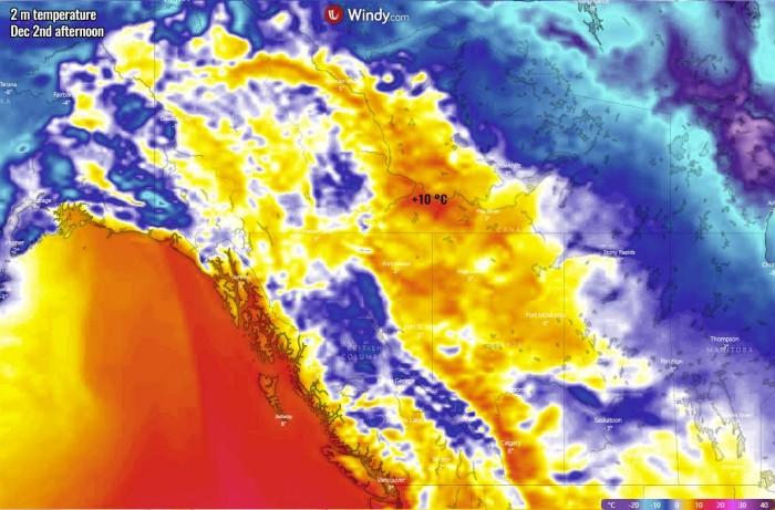 extreme-warmth-canada-north-america-wednesday-maximum-temperature