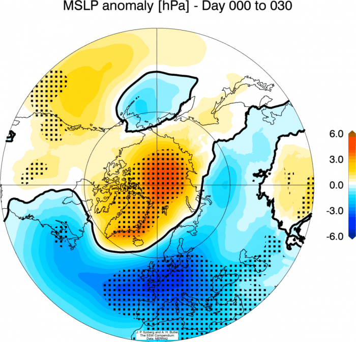 janaury-2021-weather-forecast-pressure-anomaly-after-stratospheric-warming