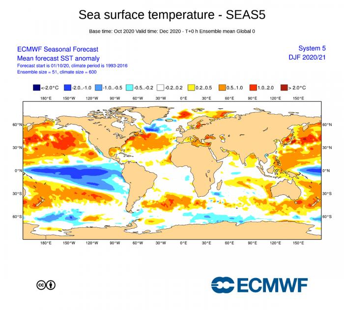 la-nina-enso-winter-forecast-jet-stream-united-states-europe-ecmwf-ocean-anomaly