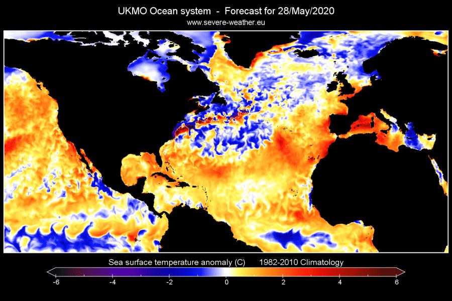 north-atlantic-ocean-temperature-anomaly-forecast