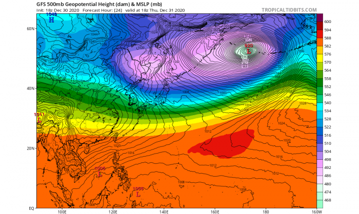 pacific-record-breaking-extratropical-storm-500-mbar-chart