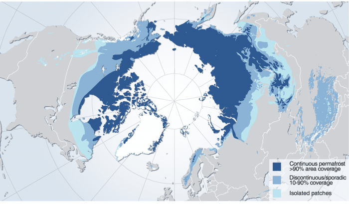permafrost-global-areas