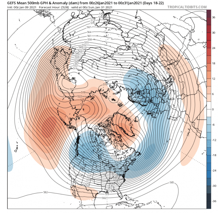 polar-vortex-splitting-weather-winter-united-states-europe-pressure-forecast-end-of-january