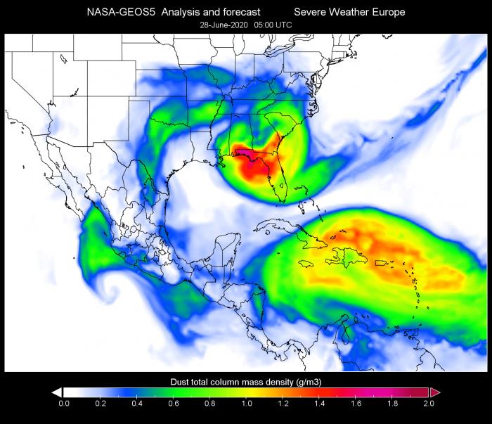 saharn-dust-cloud-usa-gulf-of-mexico-june-28