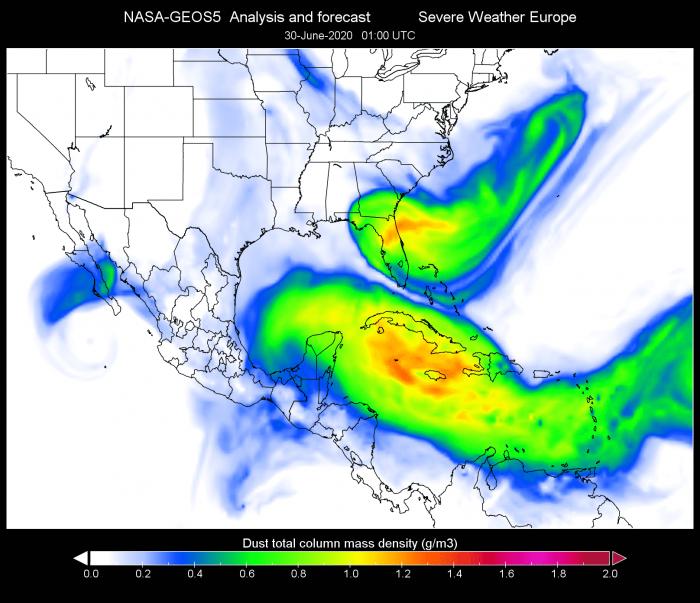 saharn-dust-cloud-usa-gulf-of-mexico-june-30