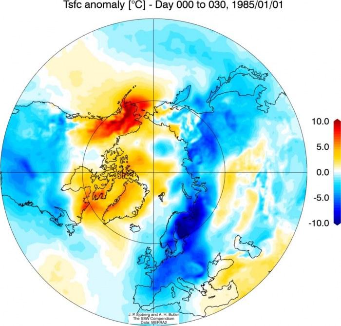 stratosphere-warming-1986-weather-temperature-impact-north-hemisphere