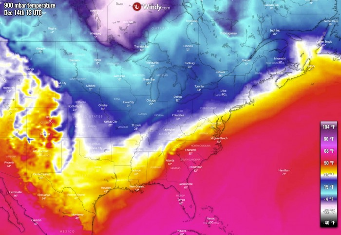 united-states-east-coast-snowstorm-ice-storm-temperature-monday-morning