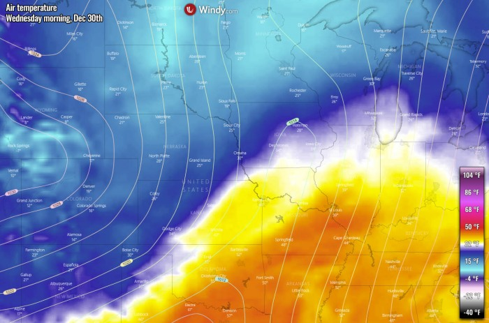 united-states-snowstorm-ice-storm-temperature-wednesday-morning