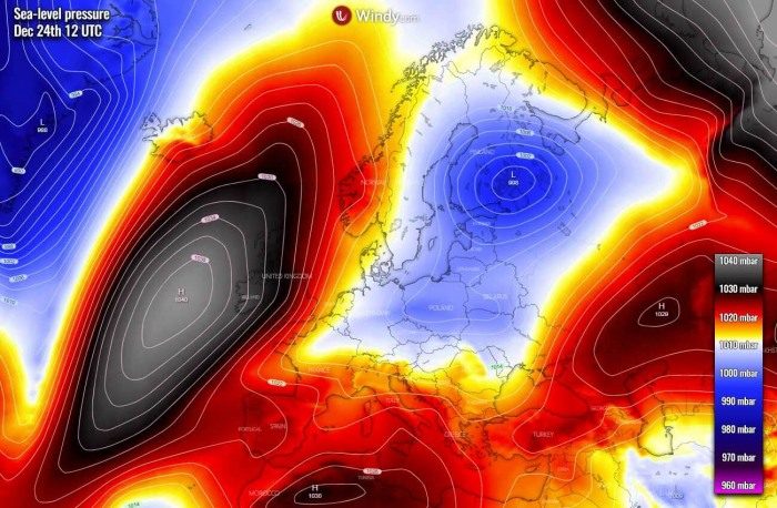 white-christmas-forecast-cold-outbreak-europe-pressure-thursday