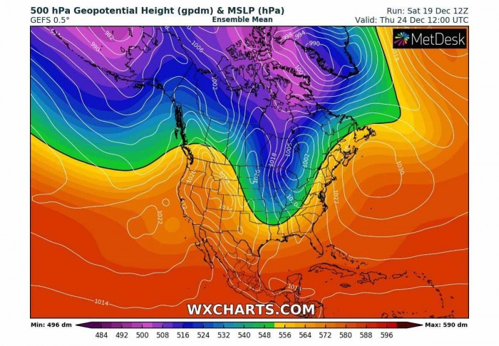 white-christmas-forecast-cold-outbreak-united-states-pattern-thursday