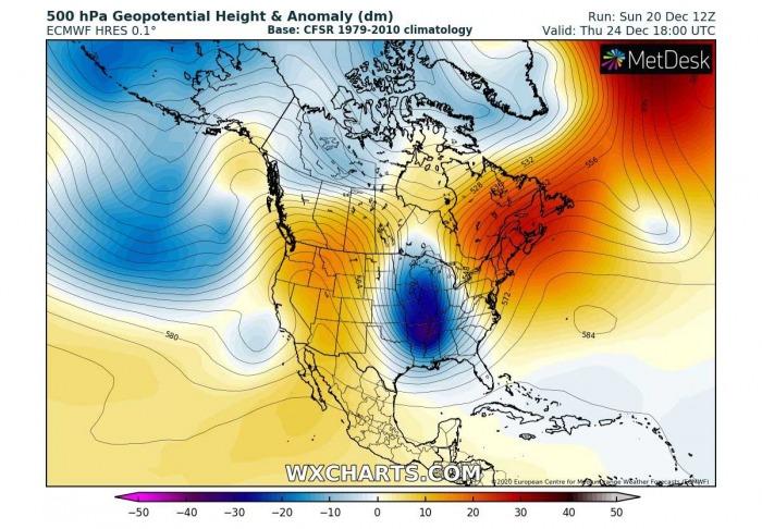 white-christmas-united-states-arctic-blast-forecast-pattern-thursday