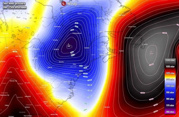 white-christmas-united-states-arctic-blast-forecast-pressure-friday