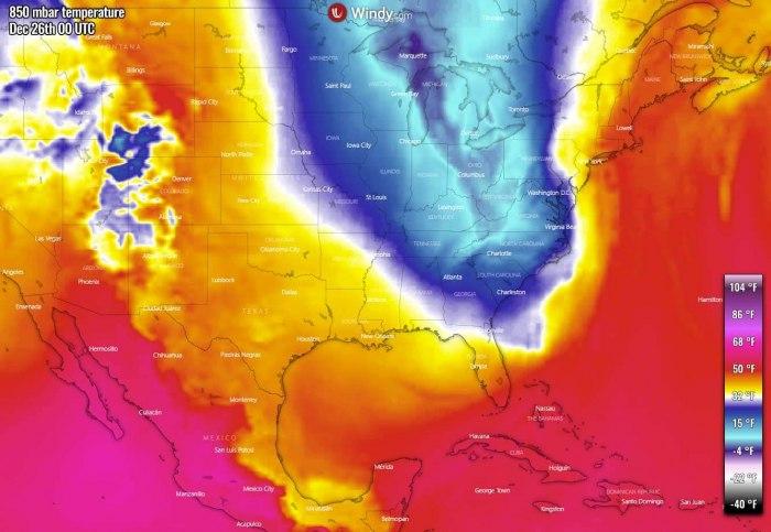 white-christmas-united-states-arctic-blast-forecast-temperature-friday