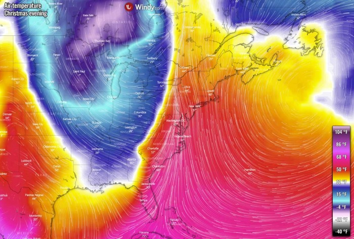 winter-storm-christmas-east-coast-temperature-evening