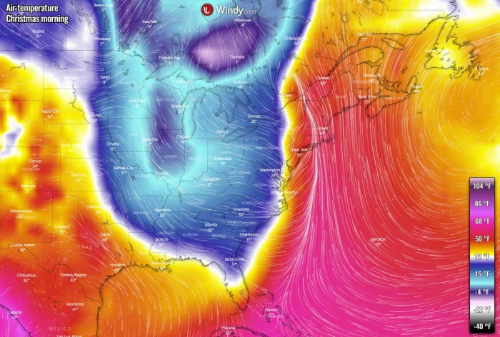 winter-storm-christmas-east-coast-temperature-morning