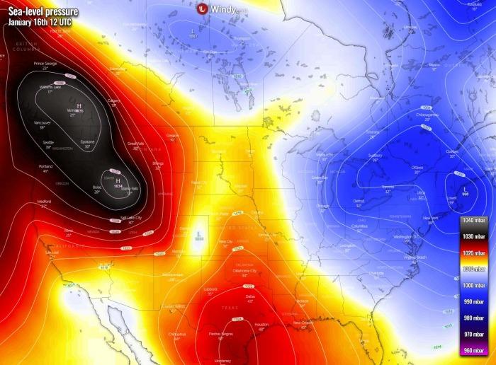 winter-storm-forecast-united-states-arctic-blast-pressure-saturday-afternoon