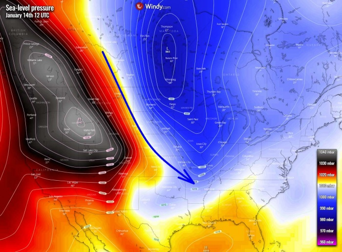 winter-storm-forecast-united-states-arctic-blast-pressure-thursday-afternoon