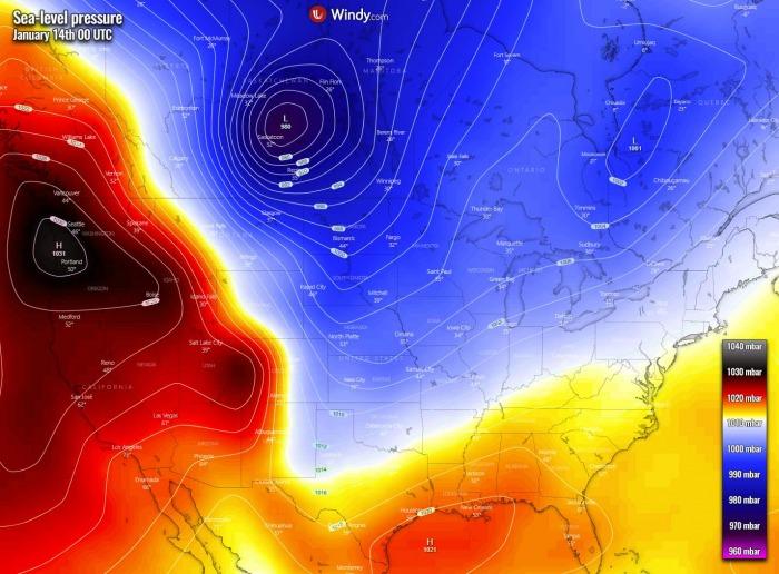 winter-storm-forecast-united-states-arctic-blast-pressure-thursday-morning