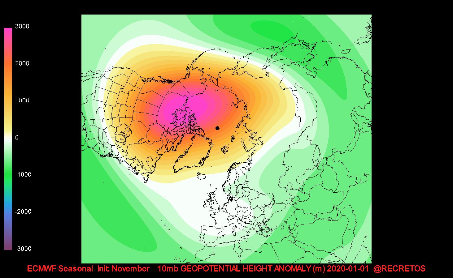 Weather Events 2020.Polar Vortex Update 16 Nov The Weakening Of The Polar