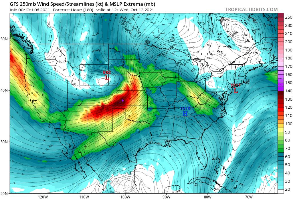 gfs-october-week-2-forecast-north-america-jet-stream-severe-weatehr