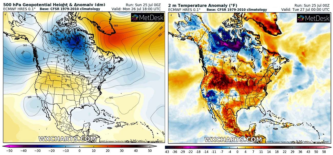 heatwave-united-states-heat-dome-forecast-early-week-pattern