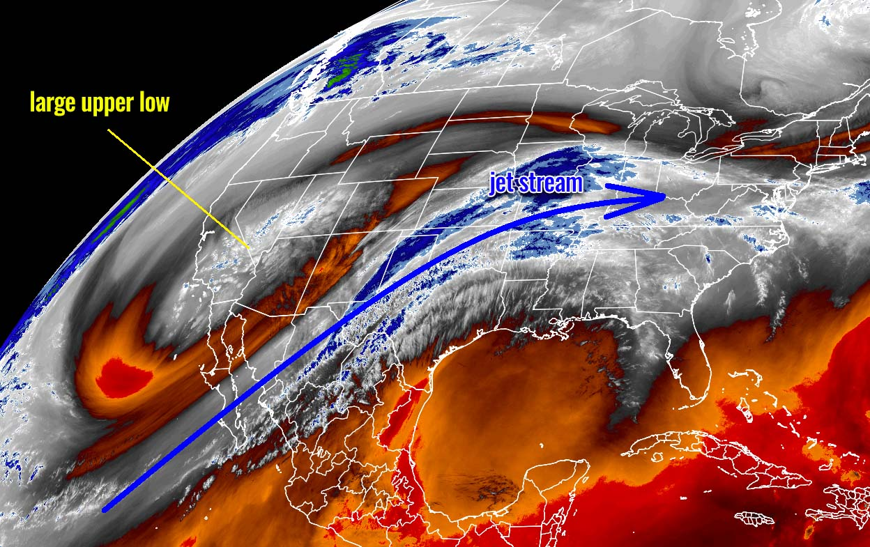 historic-winter-storm-xylia-colorado-snow-severe-weather-outbreak-water-vapor-satellite