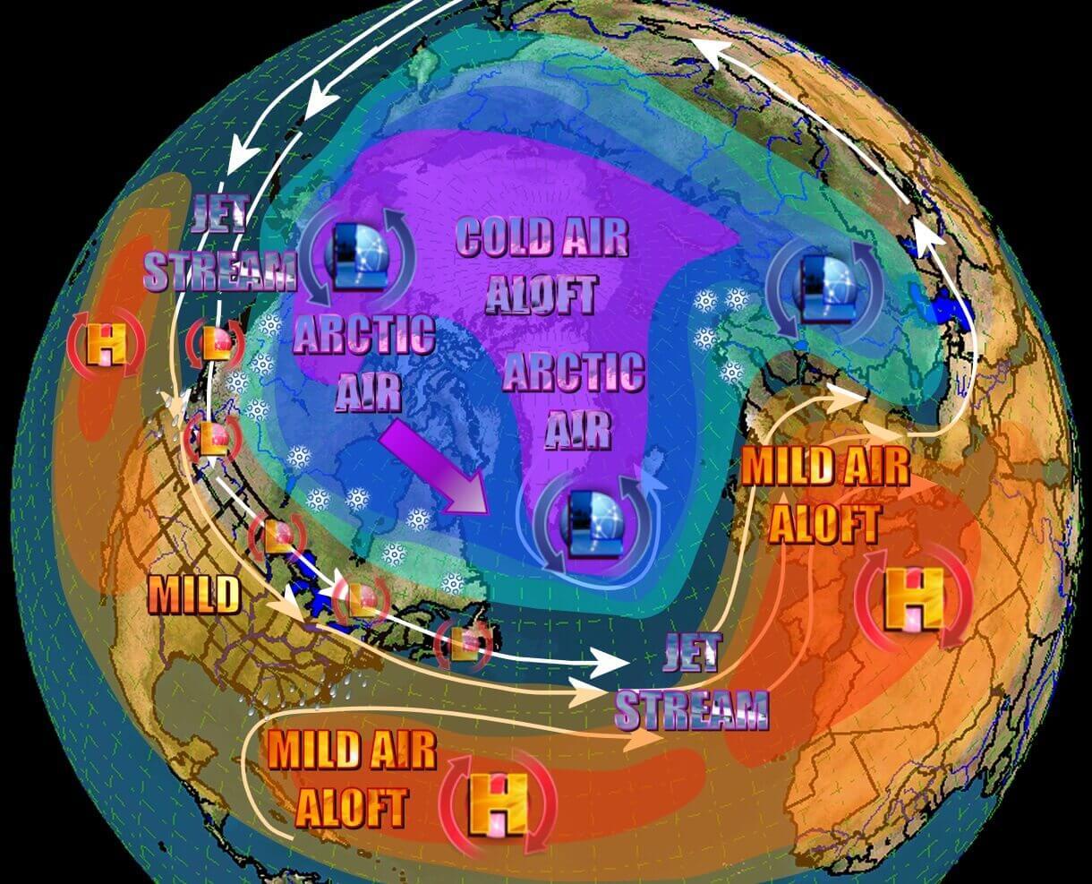 october-weather-forecast-north-atlantic-oscillation-positive-phase-usa-europe