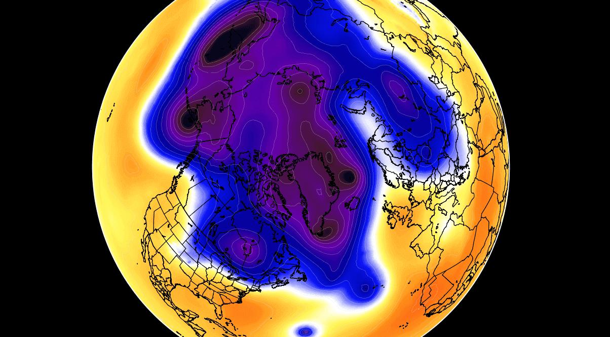 Inverno 2021-2022 pronti ad un grande evento di stratwarming