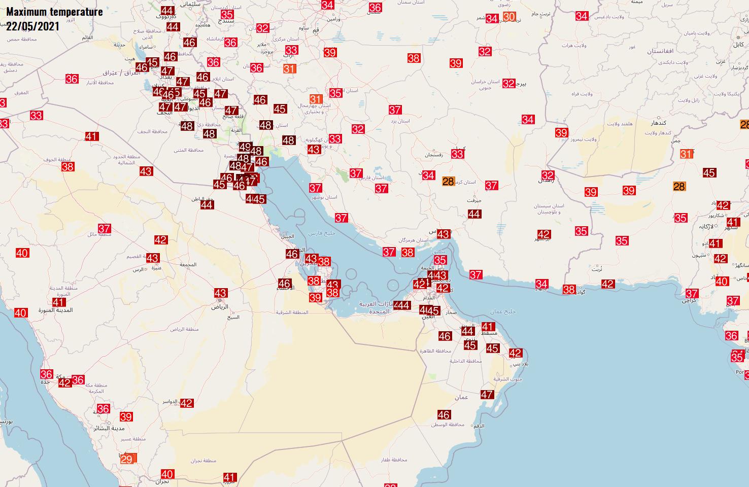 record-breaking-heatwave-russia-middle-east-arabian-peninsula-saturday-maximum