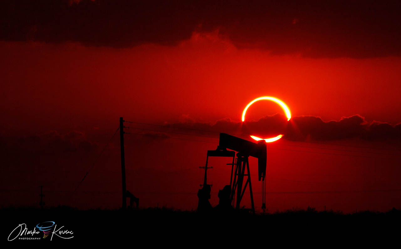 ring-of-fire-annular-solar-eclipse-2021-oil-pump