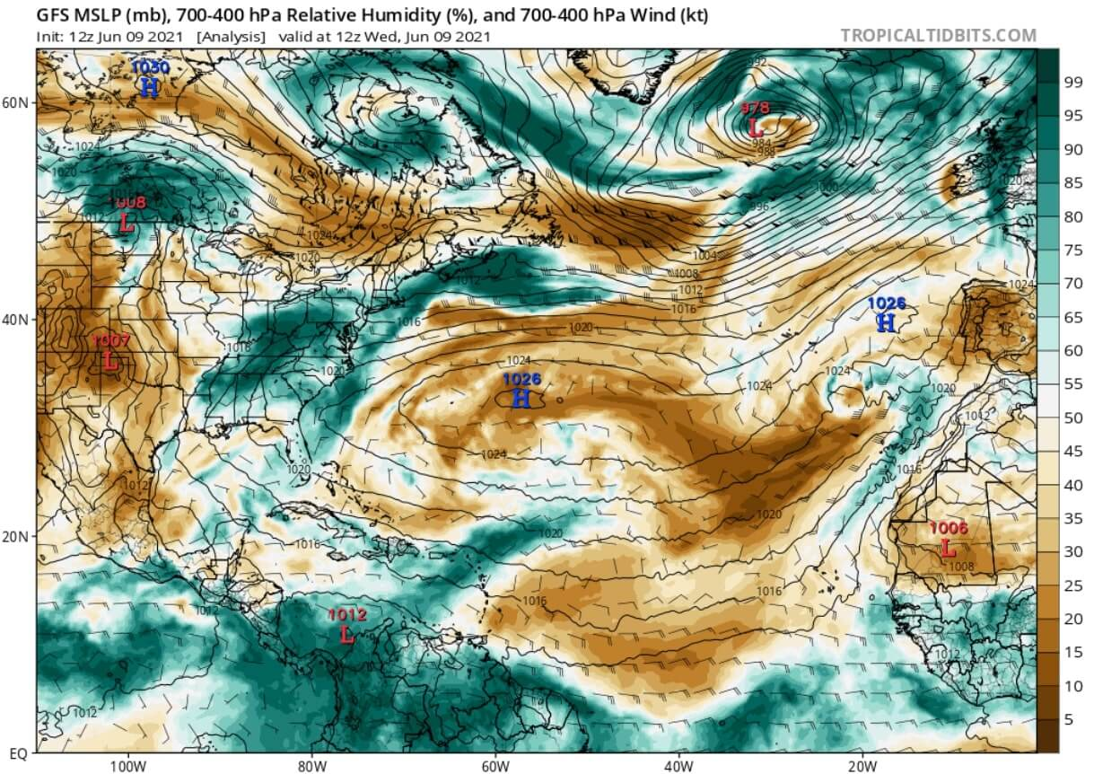 saharan-air-layer-dust-cloud-event-2021-atmospheric-moisture-analysis-june-9-north-atlantic