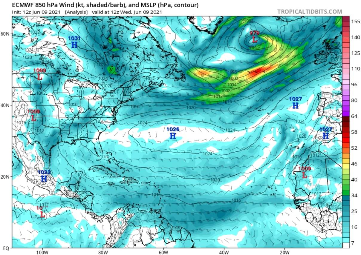 saharan-air-layer-dust-cloud-event-2021-atmospheric-pressure-and-winds-analysis-june-9