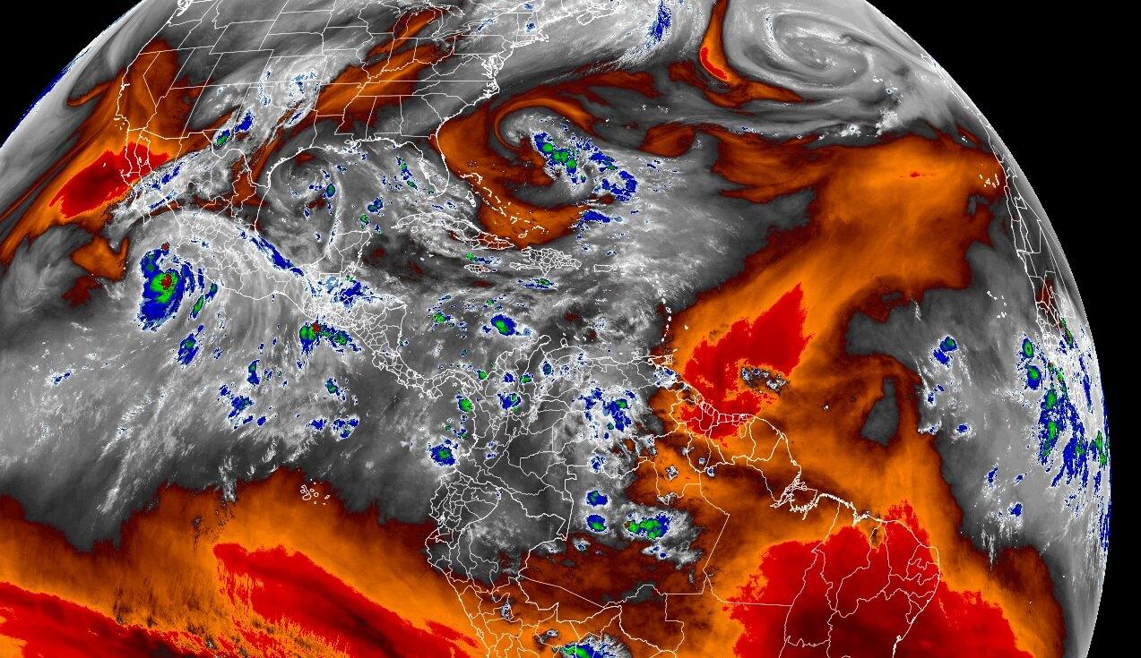 saharan-air-layer-dust-cloud-satellite-water-vapour-analysis