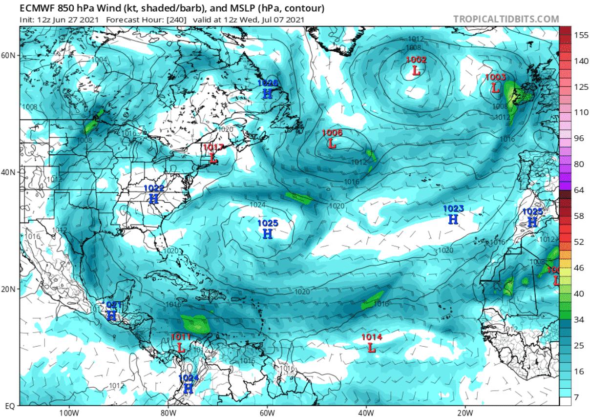 saharan-dust-cloud-atmospheric-pressure-and-winds-forecast-july-07-north-atlantic