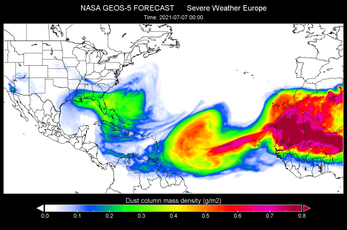 saharan-dust-cloud-july-07-forecast-nasa-geos-united-states