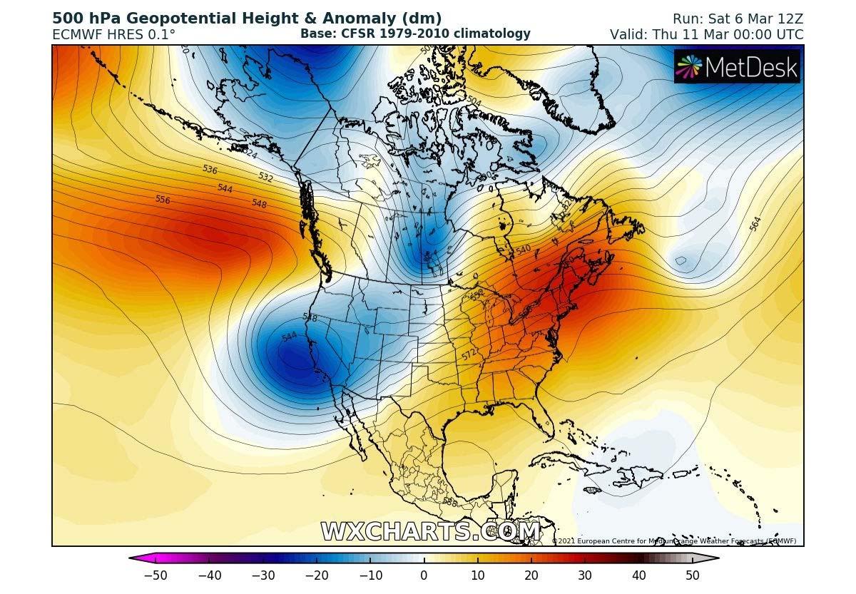 united-states-pattern-change-severe-weather-warm-wave-wednesday