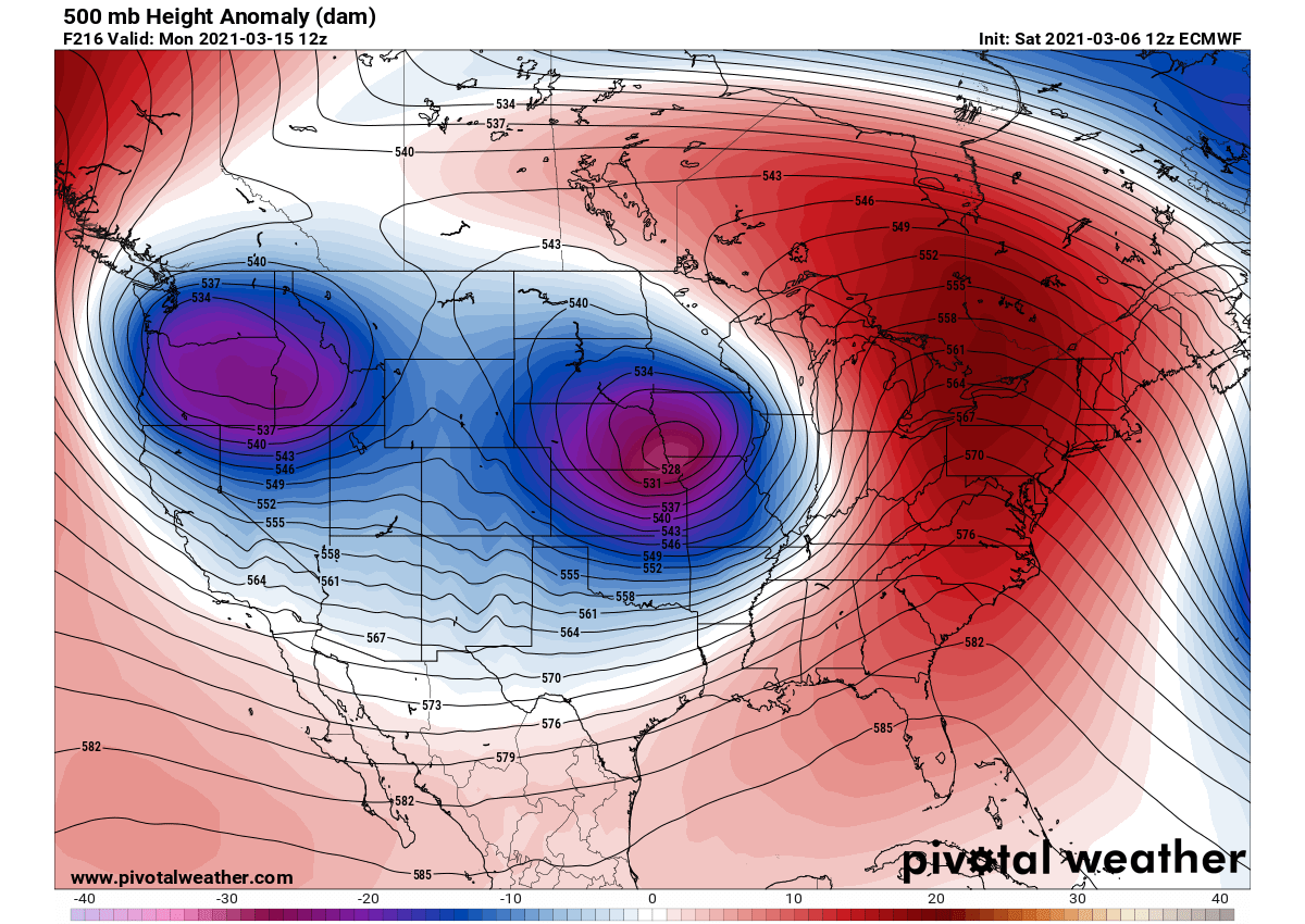 united-states-pattern-change-severe-weather-warm-wave-weekend