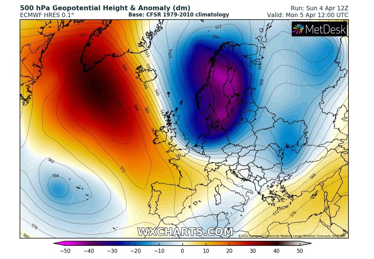 arctic-cold-blast-frost-snow-dipole-pattern-monday