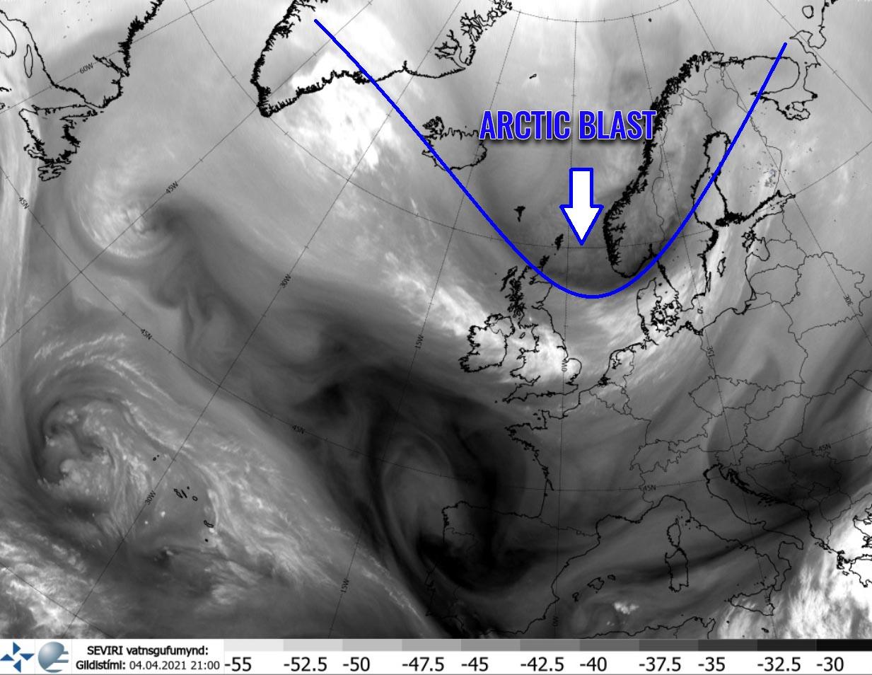 arctic-cold-blast-frost-snow-satellite-image